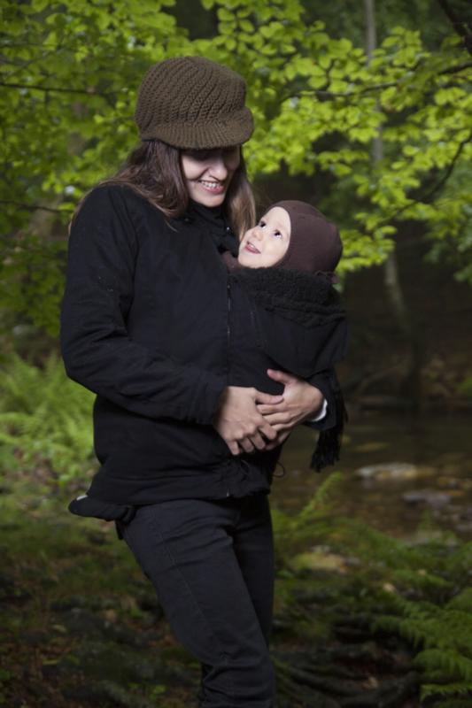 Abrigos de embarazo y porteo 4 en 1 momawo for Abrigo embarazo y porteo