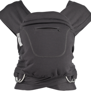 Caboo Cotton Blend Graphite Carrier-Front (2)