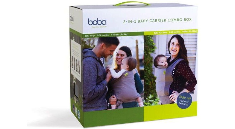 Boba Carrier 2 Combo Box Gris