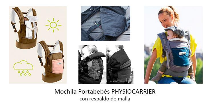 Mochila-Portabebés-Physiocarrier-Porteo-en-verano