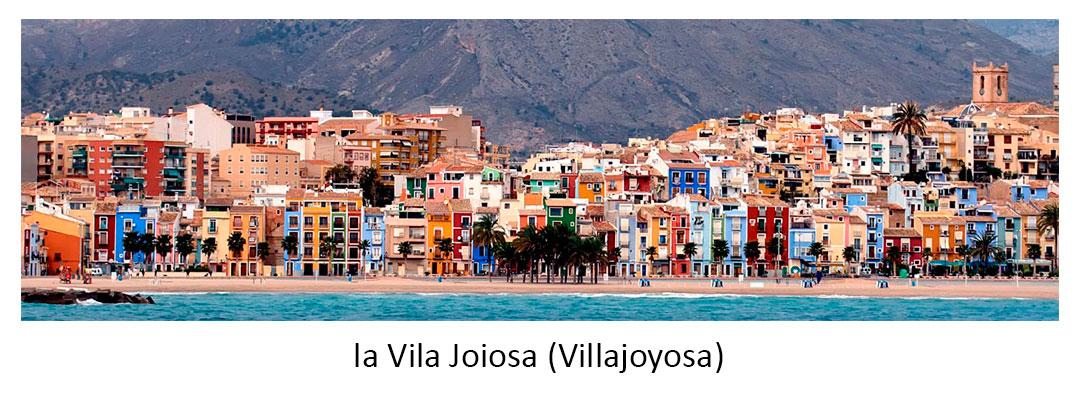 la Vila Joiosa (Villajoyosa)