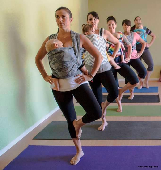 Yoga y porteo